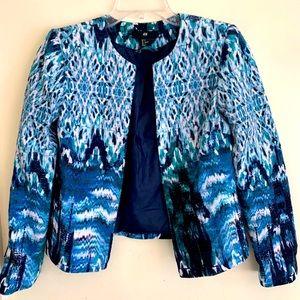🦋 H&M Tiedye Monet inspired artsy blazer jacket🦋